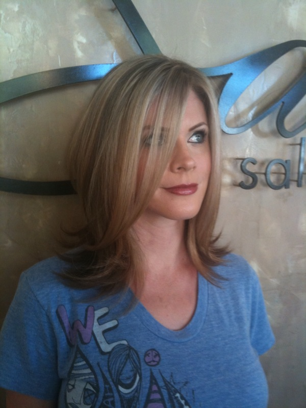 megan at sachi salon lisa turley best hair scottsdale